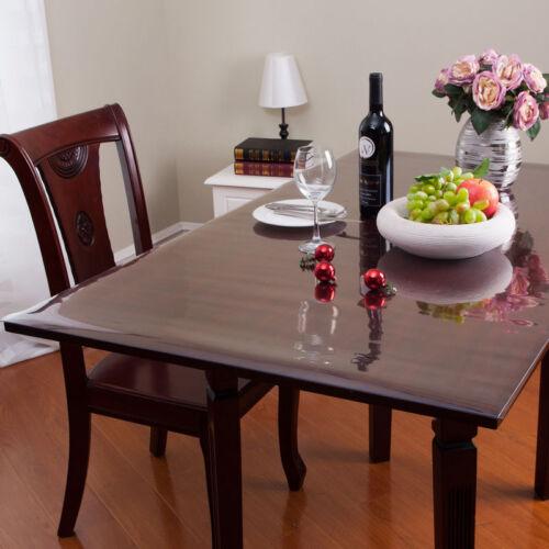 Tischdecke Tischfolie Schutzfolie Tischschutz Folie transparent Breite 2,5mm
