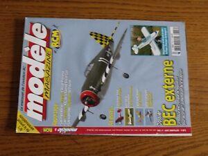 Revue-Modele-Magazine-RCM-N-696-Plan-encarte-Fokker-E3-Etra-260-BEC-extern