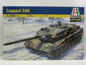 Italeri 6435 Modellbausatz Leopard 2A6 Decals for 2 versions M.1:35