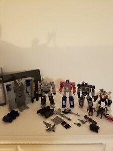 Transformers War For Cybertron Lot