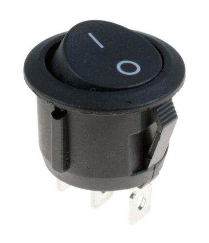10x Mini on//off//on Toggle Flick interruptor 6a 12v SPDT 3 Pin Auto Modelo Tren Ferrocarril