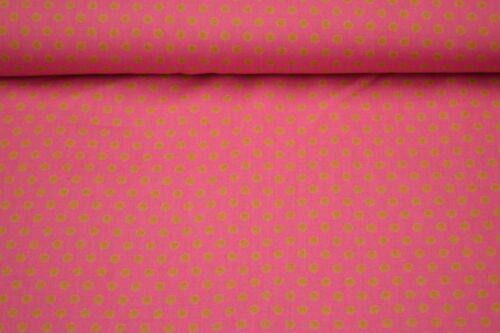 0,5m amerkanischer de toalla sustancias patchwork puntos beige rosa