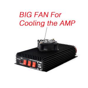 Details about HF Ham Radio Power Amplifier 3-30Mhz AM FM SSB Amplifier For  Portable CB Radio