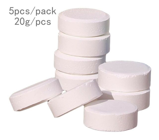 5X20g CHLORINE TABLETS 5 IN 1 Fine Multifunction Small Swimming Pool HOT TUB SPA
