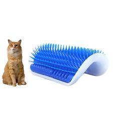 Cat Pet Rubber Corner Self Massage Grooming Brush Comb Hair Remover Play Tool