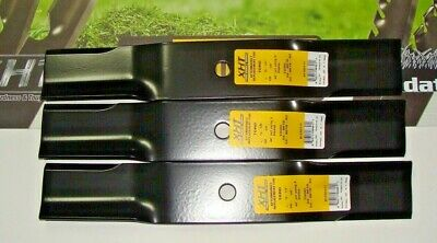 "Set of 3 BLADES FOR TORO WHEEL HORSE 54-0010-03 54001003 54-0010 44/"" CUT   3441"