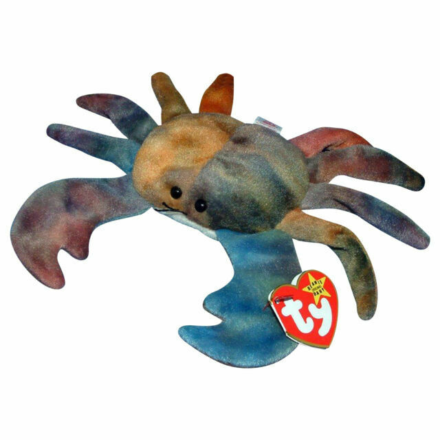 Ty Beanie Babies Claude the Crab for sale online | eBay