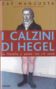 LIBRO-Zap-Mangusta-I-Calzini-di-Hegel-PIEMME-1-EDIZONE-FUORI-CATALOGO-RARO
