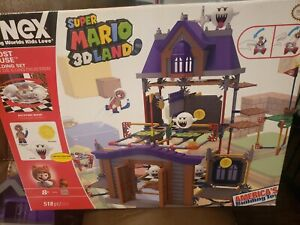Super Mario 3d Land Kinex Building, GENTLY USED