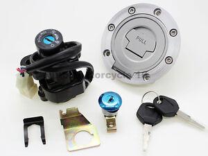 Yamaha-YZF-R1-92-12-98-99-09-05-2011-Ignition-Switch-Lock-Fuel-Gas-Cap-Key-Set