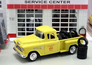 New In Box  1/43 1955 Chevrolet Stepside  Pick-up Truck  Shell with 10 Tires