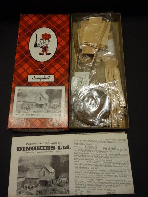 ALL ORIGINAL CAMPBELL SCALE MODELS HAMILTON DINGHIES  394-2195 MINT + BOX