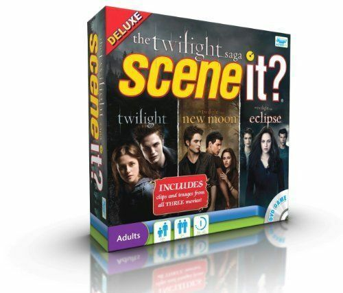 Scene It Twilight Saga Edition Deluxe DVD Game - $9.99