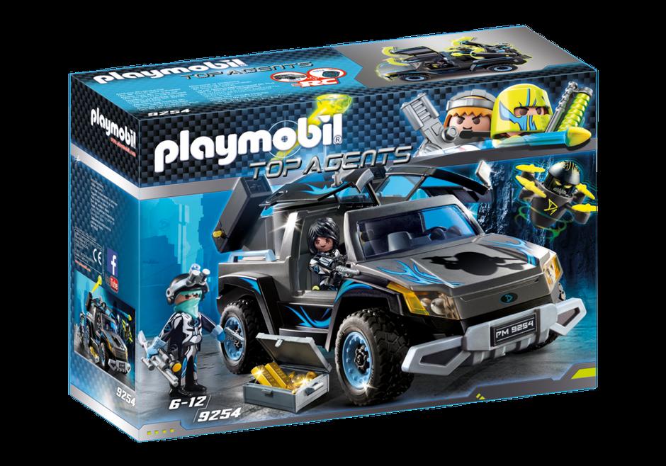 Playmobil 9254 - Dr Drone's Pickup - Neu