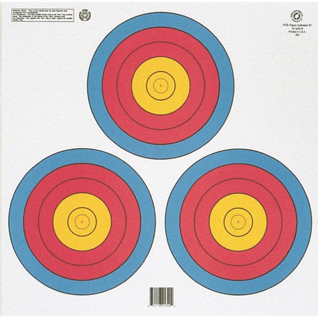 Hoja de Arce Color 3 punto aan oficial Triángulo de destino de papel Paquete de 100