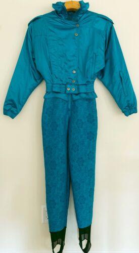 Vintage 1980s NILS Womens One piece Ski Suit Size
