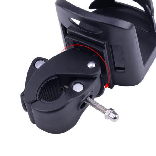 Getränketrinkbecherhalter für Rollstuhlfahrrad Motorrad Roller Fahrradhalterung