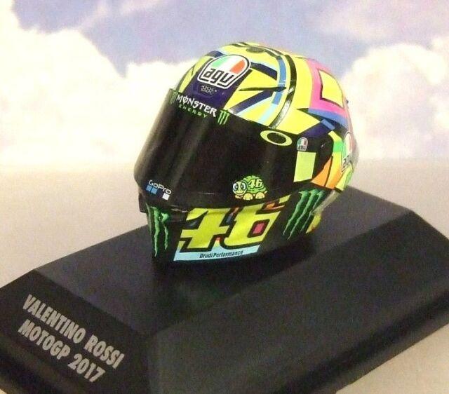 Estupendo Minichamps 1/8 AGV Casco Valentino Rossi #46 Motogp 2017 Temporada