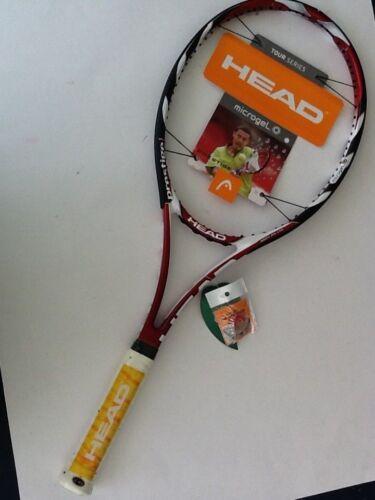New HEAD MICROGEL prestege MP 98 Raquette de tennis-RARE- 4 1//4 ORIGINAL NEUF frame
