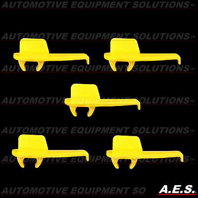 5pcs Yellow Nylon Tire Changer Machine Mount Demount Head Inserts