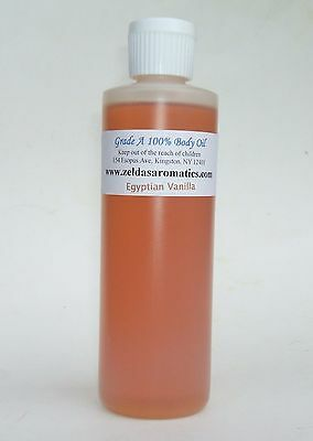 Zelda's Egyptian Vanilla Wholesale 100% Pure Body Oil 4 oz