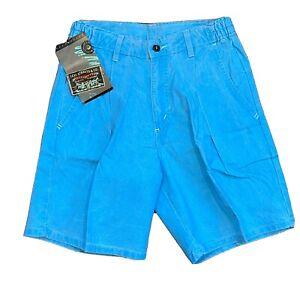 plus size 90s turquoise denim shorts