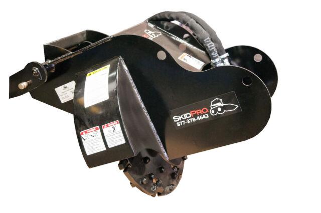 Stump Grinder Sp24 S450 Skid Steer Loader Attachment Bobcat Gehl Cat
