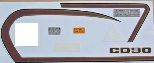 Honda CD50 CD90 CD125 CD200 decal sticker full set