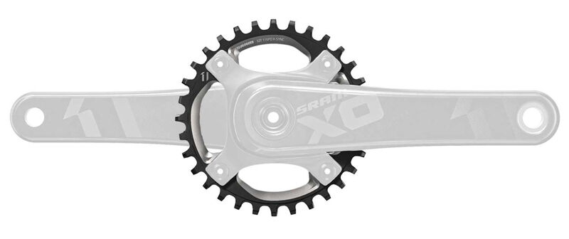 SRAM Truvativ X01 X0-1 1x X-Sync Mountain Bike MTB Chainring 104mm BCD - 34t