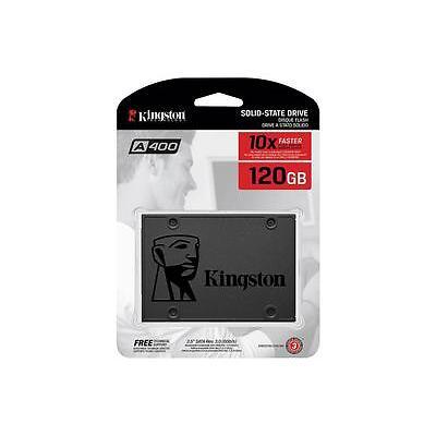KINGSTON  HARD DISK SSD STATO SOLIDO 2,5 120GB SA400S37/120G SATA 6Gb/s