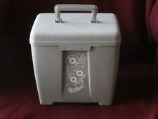 RECORD CASE~ HOLDS 50 45'S~ RARE FIND~ LUSTRO WARE~ NEAR MINT  ~COLLECTABLES