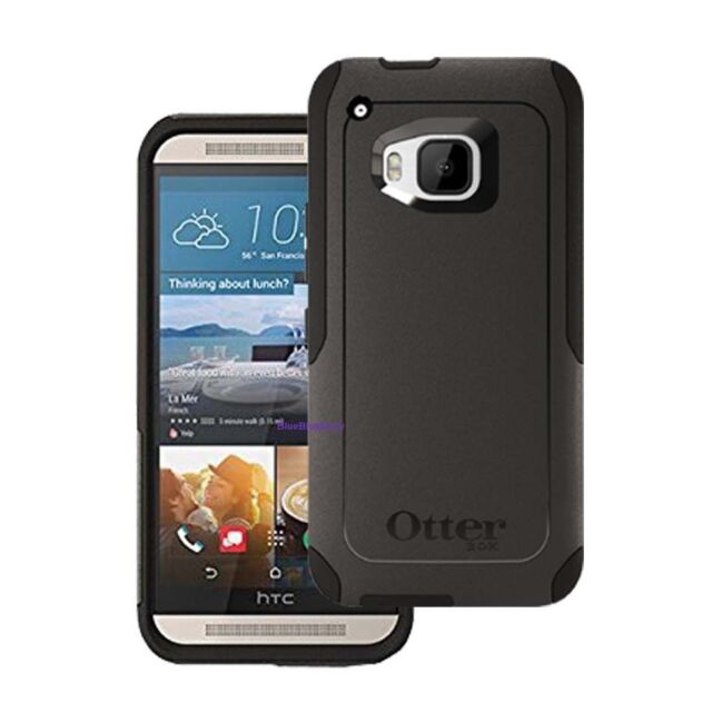 new arrival d94fb 44617 OTTERBOX Commuter Series Case for HTC One M9 Black