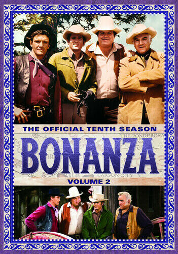 Bonanza Tv Series Official Tenth Season 10 Volume 2 Dvd 14 Episodes For Sale Online Ebay