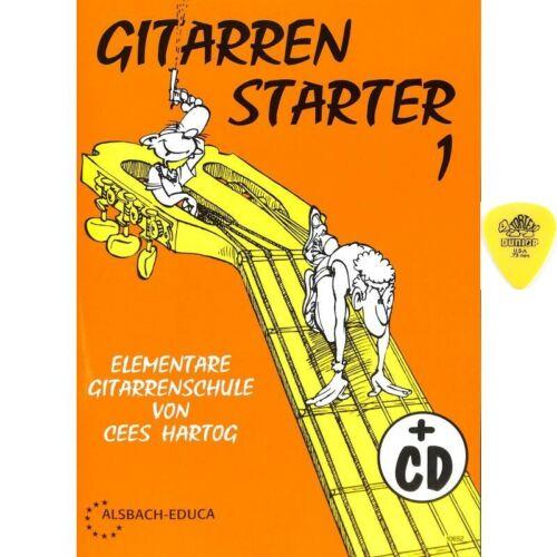 Gitarrenstarter Band 1 Gitarrenschule mit CD für Anfänger von Cees Hartog