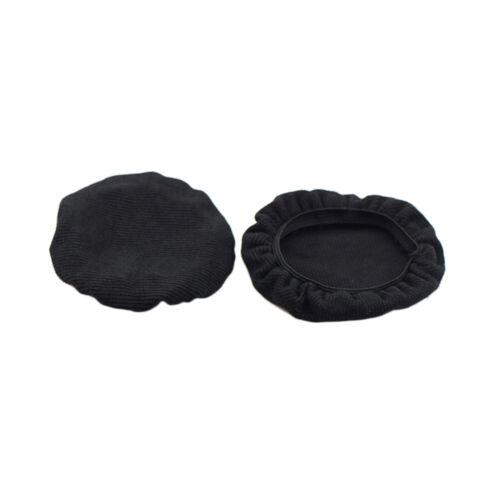 2pcs Stretchable Fabric Headphone Earpad Covers Washable Sanitary Headset Earcup