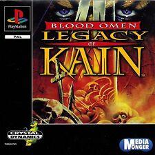 PLAYSTATION ® 1 ps1 ps2 ps3 Blood Omen Legacy of Kain ™ (culto) RAR