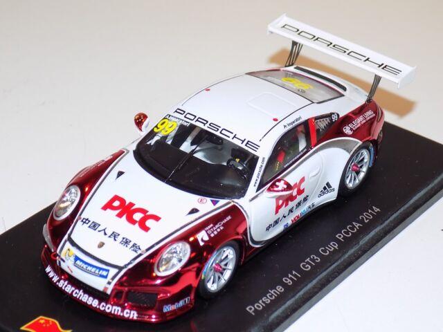 Jousse C1 A PCCF Paul Ricard 2014-1:43 Spark SF082 Porsche 911 991 GT3 Cup