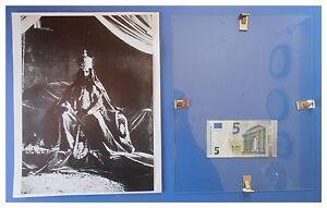 Il-negus-Haile-Selassie-sul-trono-imperiale-duce-fascismo-quadro-cornice-vetro