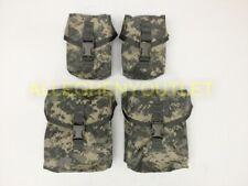 4 Piece US Military Army MOLLE Saw Gunner Pouch Set 2//200 /& 2//100 Round ACU NIB