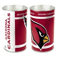 Arizona Cardinals Waste Basket Trash Garbage Can