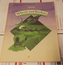 Teacher's Ed Wheels and Rockets  by Focus Reading for Success KIDS BOOK LEARNING