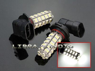2 X 9145 9140 9005 H10 White 68-SMD LED Driving High Beam Fog Lights Bulbs Lamp