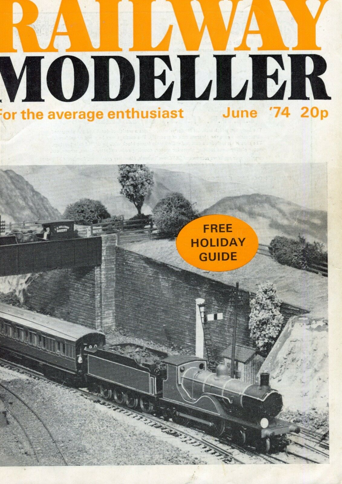 Railway Modeller Magazine  June 1974  Holiday Guide