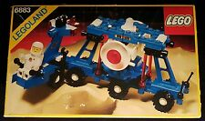Lego 6883 - Terrestrial Rover - 1987 Legoland Classic Space - 80s Vintage - MISB
