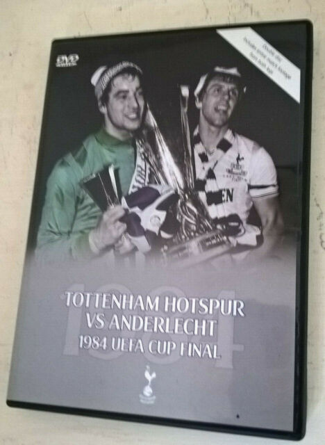 TOTTENHAM V ANDERLECHT 1984 UEFA CUP FINAL DVD TWO DISCS