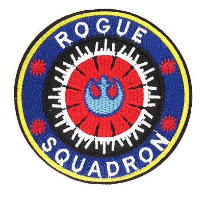 """Star Wars Rebel//Imperial Wing Logo 3/"""" Patch Set of 2-USA Mailed SWPA-FC-15-Set"""