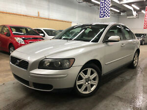 2006 VOLVO S40 2.4i 166,000 KM/AUT/AC/CUIR/MAGS/CRUISE/GR-ELEC!!