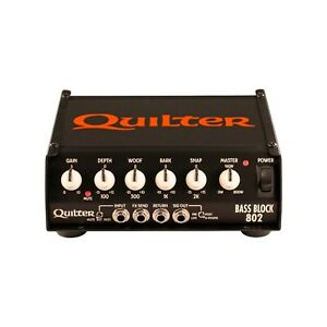 034-NEW-034-QUILTER-BassBlock-BB802-HEAD-800-WATTS-OF-THUNDER-DOWN-UNDER-USA-MADE