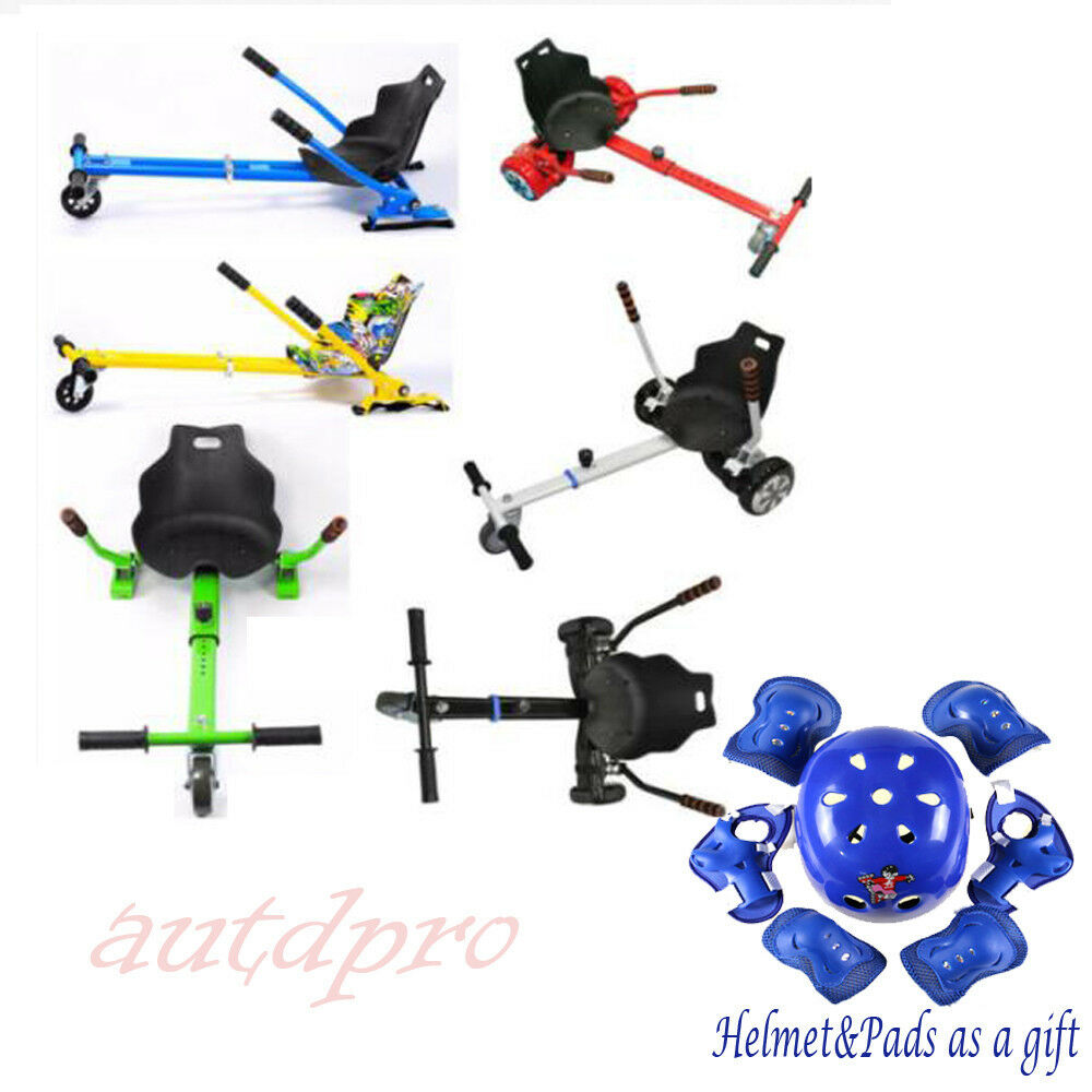 6.5  8  10 Christmas Toy Balance Scooter Adjustable Seat + Gift bluee Helmet Pads