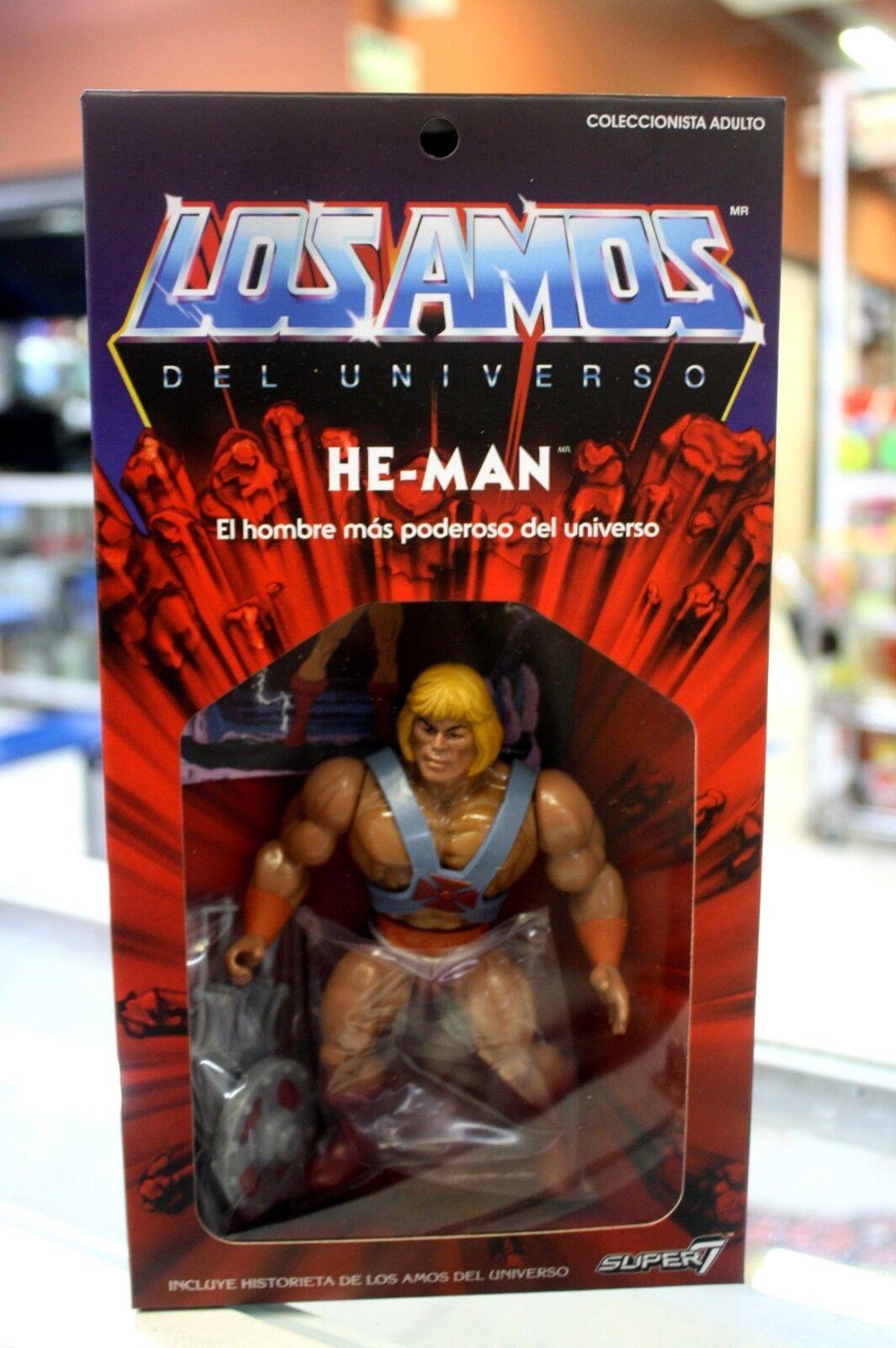 He-uomo azione cifra Super 7 Mexico Convention exclusive   negozio online